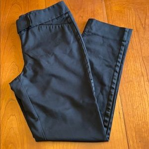 White House Black Market sz 6 tuxedo pants